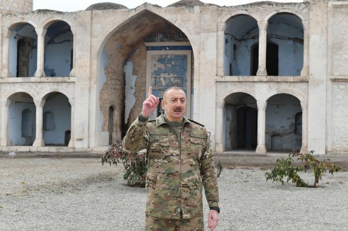 "President Aliyev: ""Kocharyan and Sargsyan have knelt before us"""