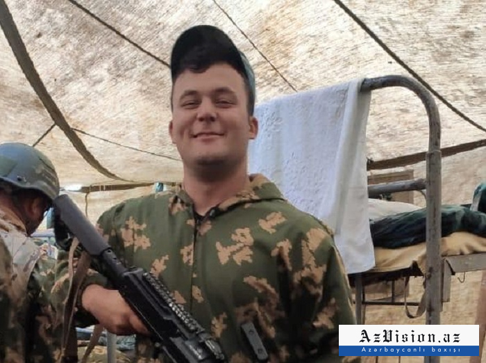 Aserbaidschanischer Soldat, der bei der Verteidigung des Mutterlandes heldenhaft den Märtyrertod erlitten hat -   VIDEO