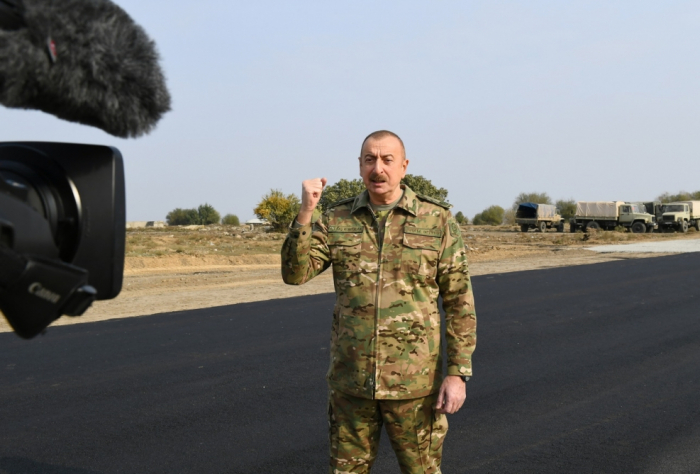 We forced Armenia to withdraw from Aghdam, says President Ilham Aliyev - VIDEO