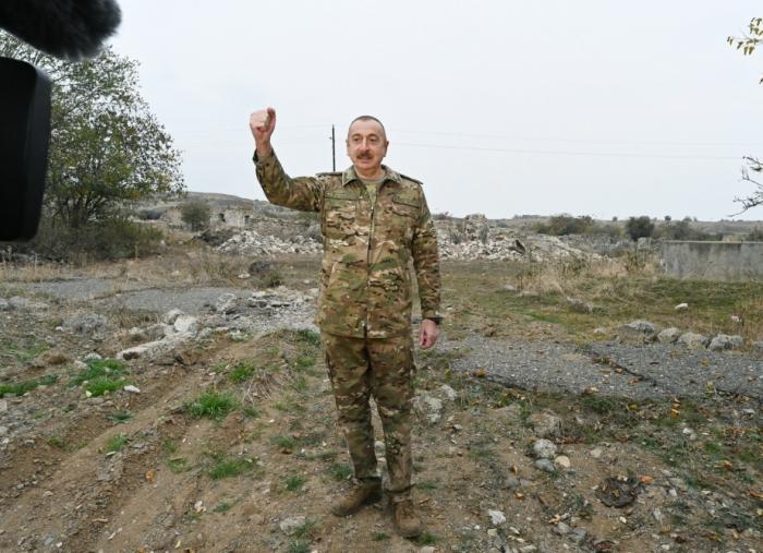 Armeniawill be held accountable for all war crimes in Azerbaijan - President Aliyev| VIDEO