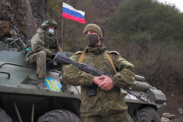 Russian peacekeeper wounded in Nagorno-Karabakh
