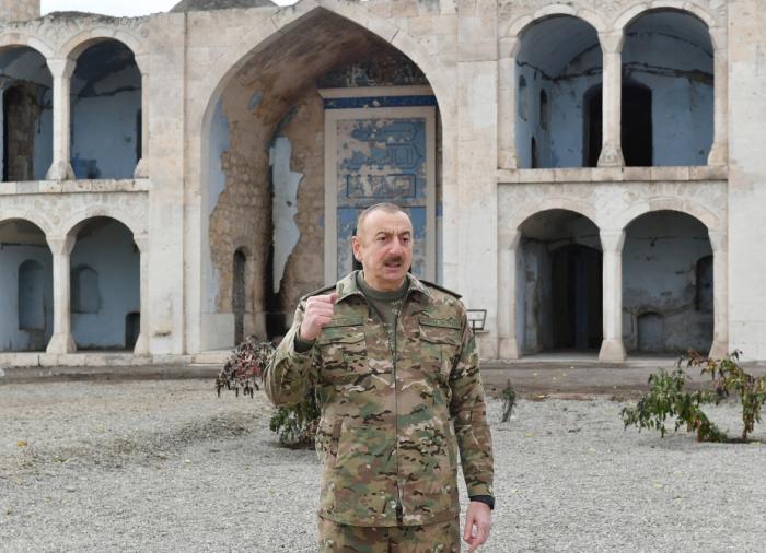 """Prezident:    """"İnformasiya müharibəsində qələbə qazandıq"""""""