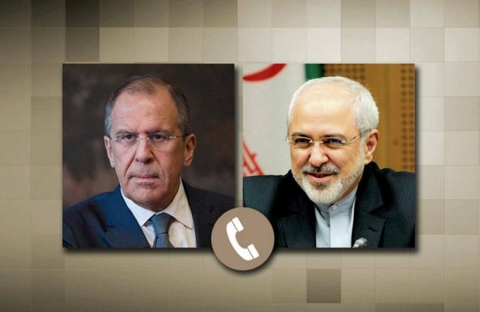 Lavrov et Zarif ont discuté de la situation au Karabagh