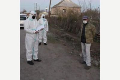 Polis koronavirus xəstələrini evə qaytardı