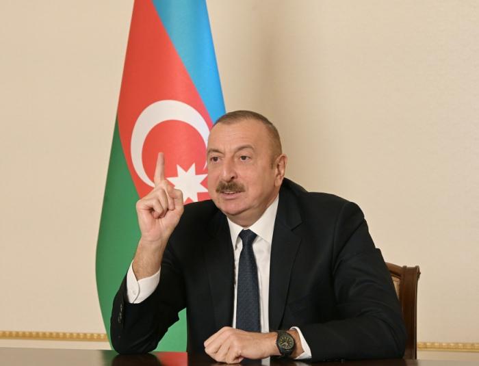 Des instructions préliminaires ont déjà été données pour la restauration du chemin de fer vers Nakhitchevan - Ilham Aliyev