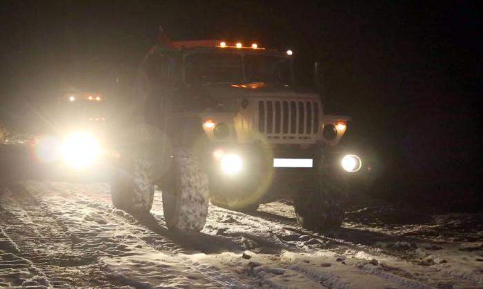 Neues Videomaterial über den Einzug der aserbaidschanischen Armee in Kalbadschar