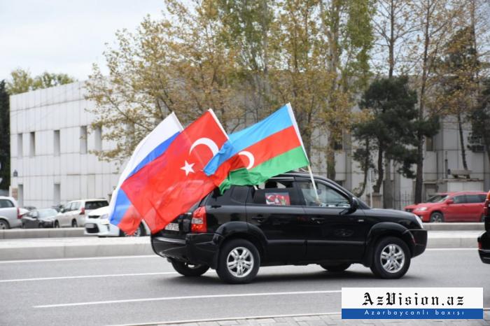 Kalbajar march in Baku -  PHOTOS