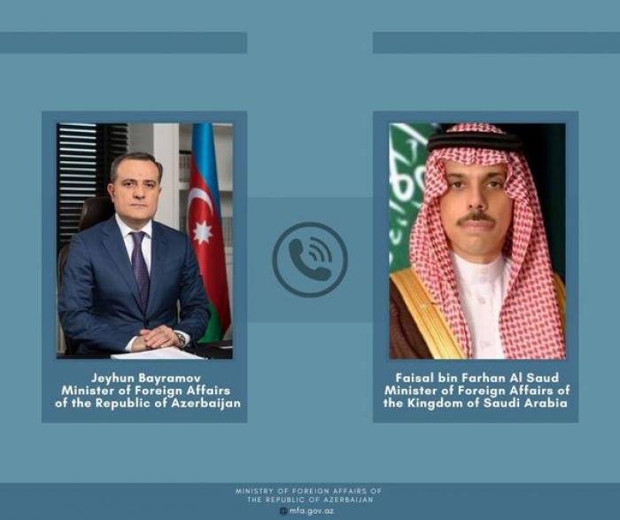 Azerbaijan FM had a telephone conversation with Saudi FM