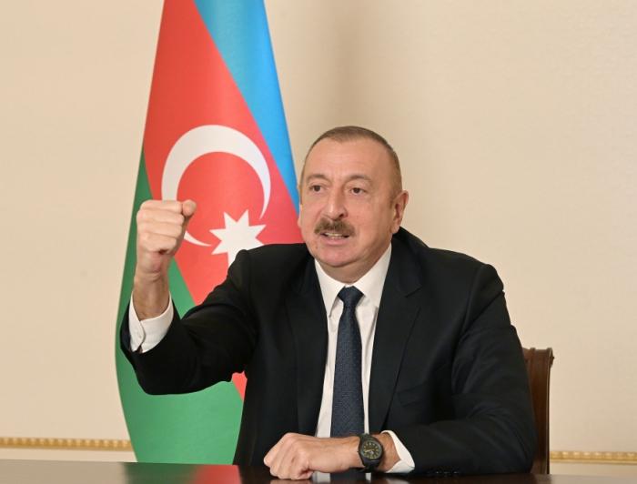Aserbaidschanischer Präsident:   Wir werden Kalbadschar wieder aufbauen