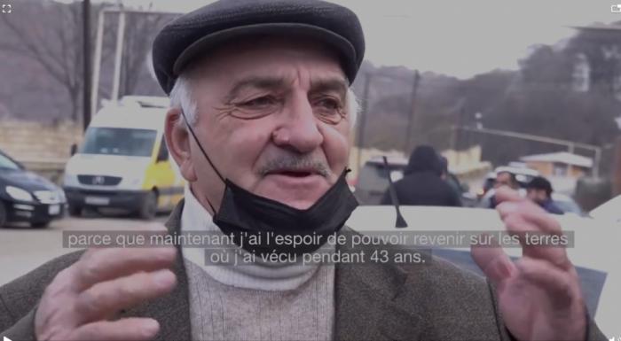 France-24 a diffusé un reportage sur la libération de la région azerbaïdjanaise de Kelbedjer