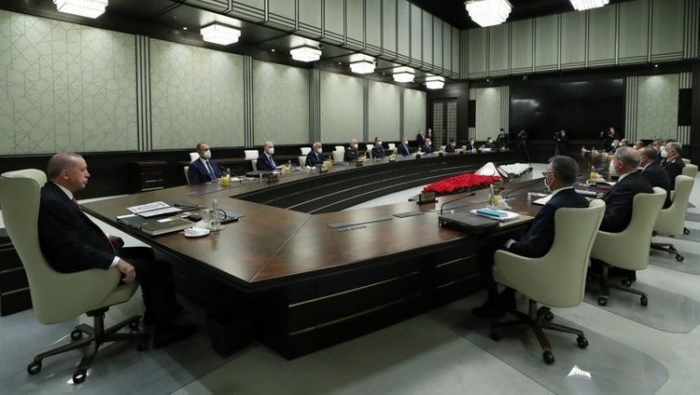 Erdogan discusses situation in Karabakh with National Security Council