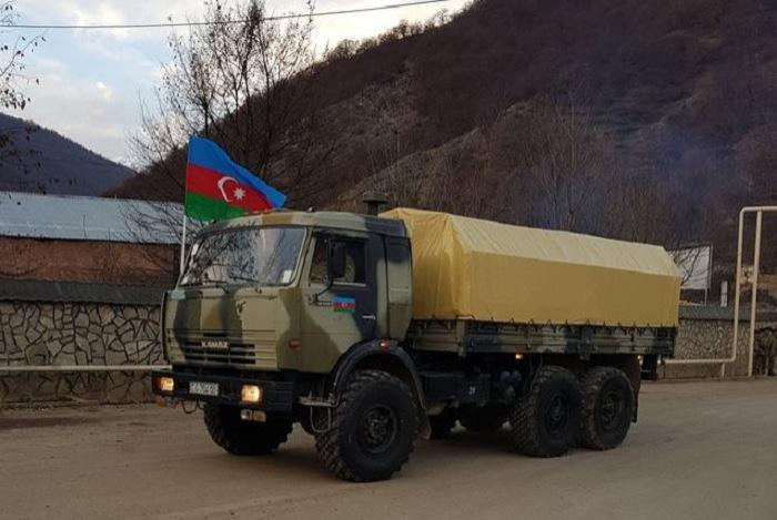 Les soldats de la paix ont assuré la sécurité des civils pendant la rétrocession de la région de Kelbedjer
