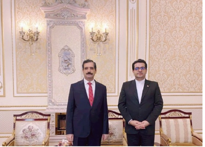 Embajadores turco e iraní abordan Karabaj