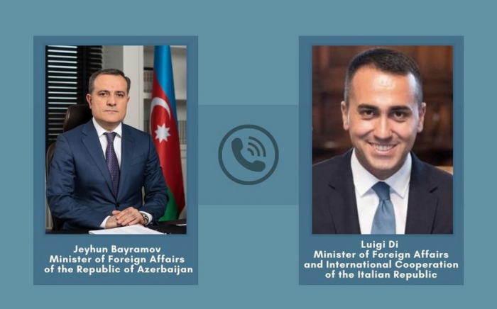 Azerbaijani, Italian FMs hold phone talk