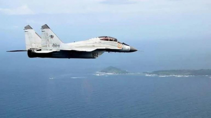 India's fighter jet crashes into sea, pilot goes missing