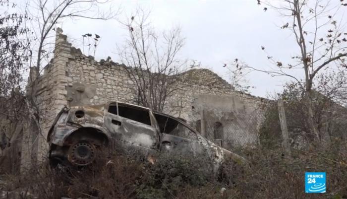 France 24 diffuse un reportage de larégion azerbaïdjanaise de Fuzouli