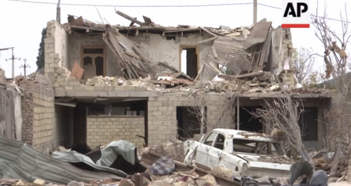 """""""Associated Press"""" Gəncə terroru barədə reportaj yayımladı -  FOTOLAR"""