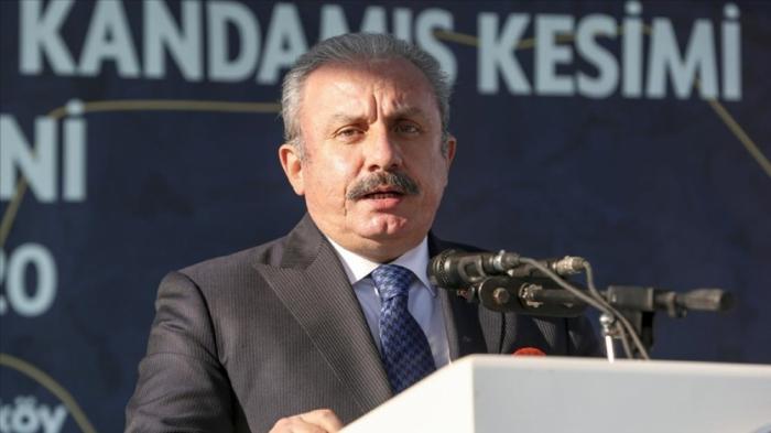 """""""Azərbaycanın torpaqlarını azad etməsi Tarixi İpək Yolunu canlandıracaq"""" -    Mustafa Şentop"""