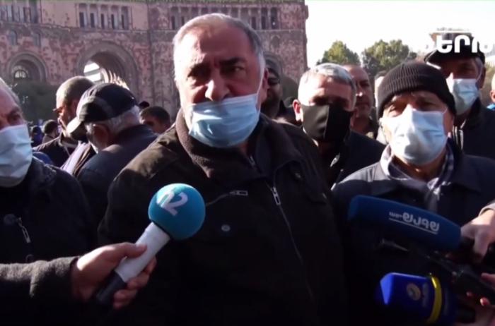 La acción de protesta de padres de soldados continúa en Armenia -   VIDEO