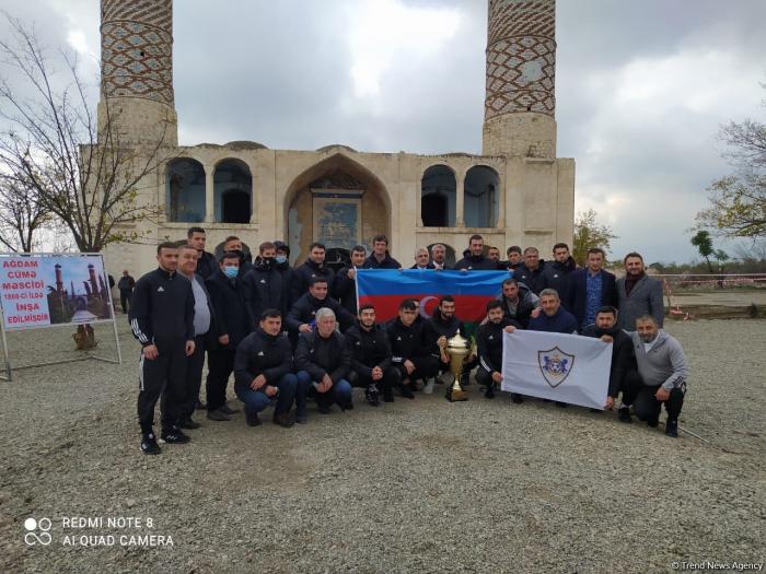 Garabagh FC representatives visit Aghdam - PHOTOS/VIDEOS