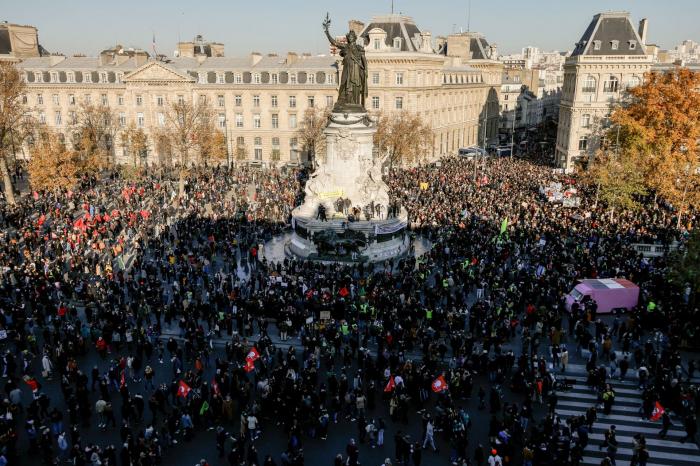 Marches des libertés en France:500.000 manifestants selon les organisateurs