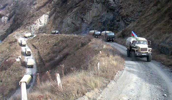 Videoaufnahmen von Dörfern der Region Kalbadschar