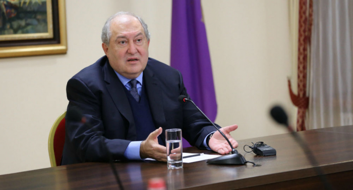 Current government must go, says Armenian President Sarkissian