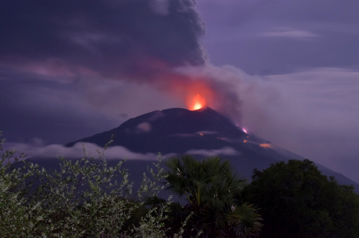 Thousands evacuated as volcano erupts in eastern Indonesia
