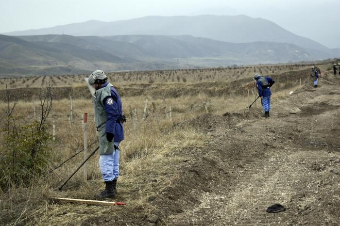 Se han limpiado miles de minas en las zonas liberadas