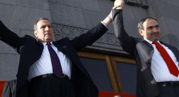 """""""El pueblo armenio nunca perdonará a Pashinián""""-  Ter-Petrosián"""