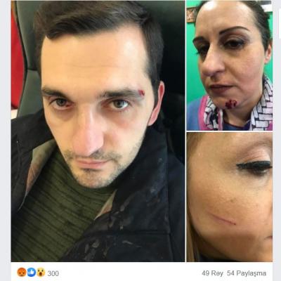 Les atacan a los manifestantes en Armenia