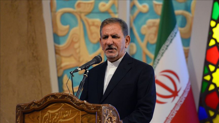 Iran welcomes the restoration of peace with relation to Nagorno-Karabakh -Vice President Jahangiri