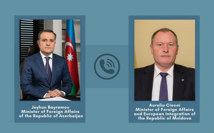 Azerbaijani FM discusses Nagorno-Karabakh peace deal with his Moldovan counterpart