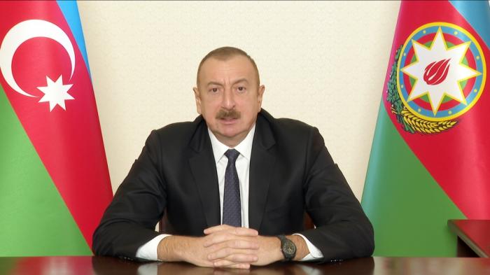 President Aliyev congratulates Azerbaijani people on liberation of Kalbajar from occupation