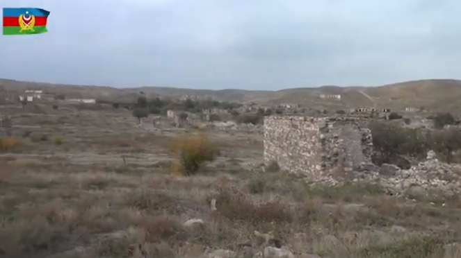 Video  footage of liberated villages of Jabrayil region