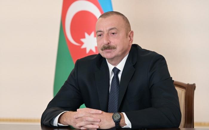 L'Arménie a largement utilisé des mercenaires étrangers, affirme le président Aliyev
