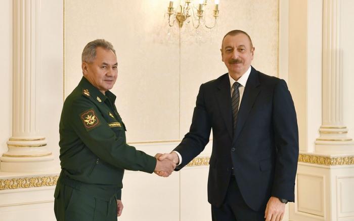 """""""Les dispositions de la déclaration sont mises en œuvre avec succès"""" - Ilham Aliyev"""