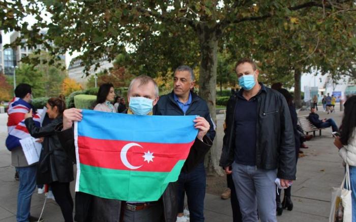 Londonda erməni terrorunun qurbanları yad edildi
