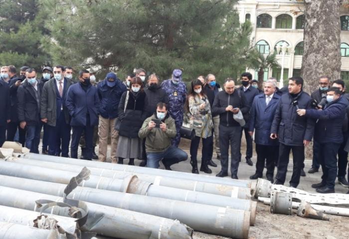 تم تسليم الصاروخ الذي أطلقه الأرمن في ترتار إلى المتحف