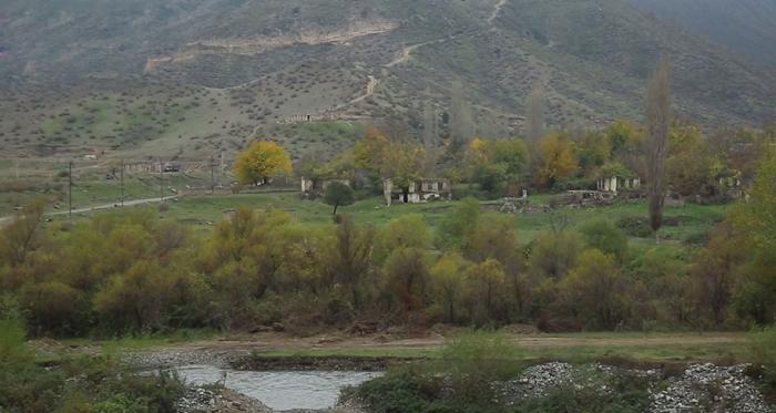 Video   coverage of the liberated Gulebird village of Lachin region