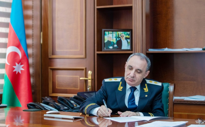 Baş prokuror terrorçularla bağlı BMT komissarına müraciət etdi
