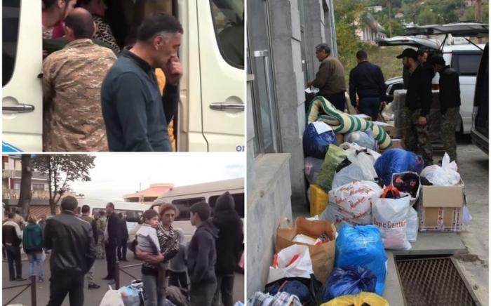 Armenians fleeing Karabakh are helpless in streets