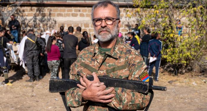 French citizens fight against Azerbaijani Army in Nagorno-Karabakh