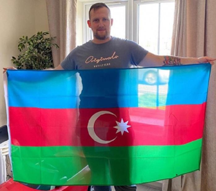 Britaniya vətəndaşından Azərbaycanla bağlı təqdirəlayiq addım