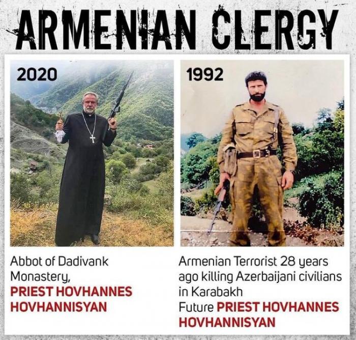الراهب الأرمني يهرب من كلبجار