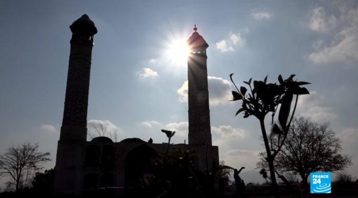 France 24 diffuse un reportage delarégion azerbaïdjanaise d