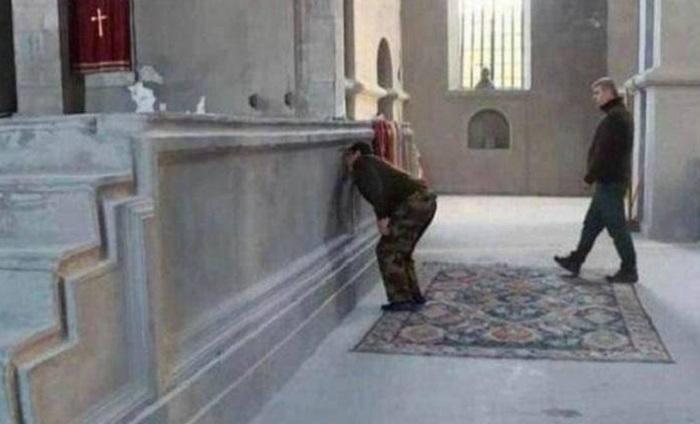 Şuşa kilsəsində saxta videomüraciət:    Arayik Ermənistana qaçdı