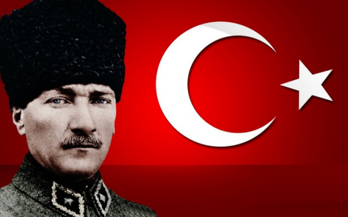 Azərbaycan XİN-dən Atatürklə bağlı paylaşım