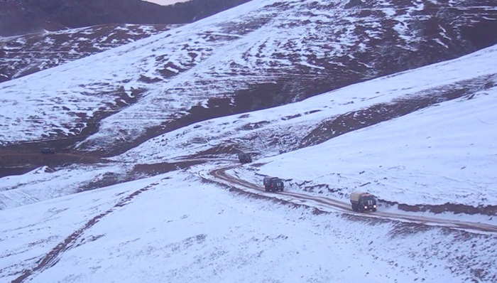 Another   video   of entry of Azerbaijani units to Kalbajar region