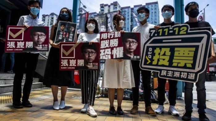 """Regierungschefin Lam will """"verfassungsmäßige Ordnung"""" wiederherstellen"""